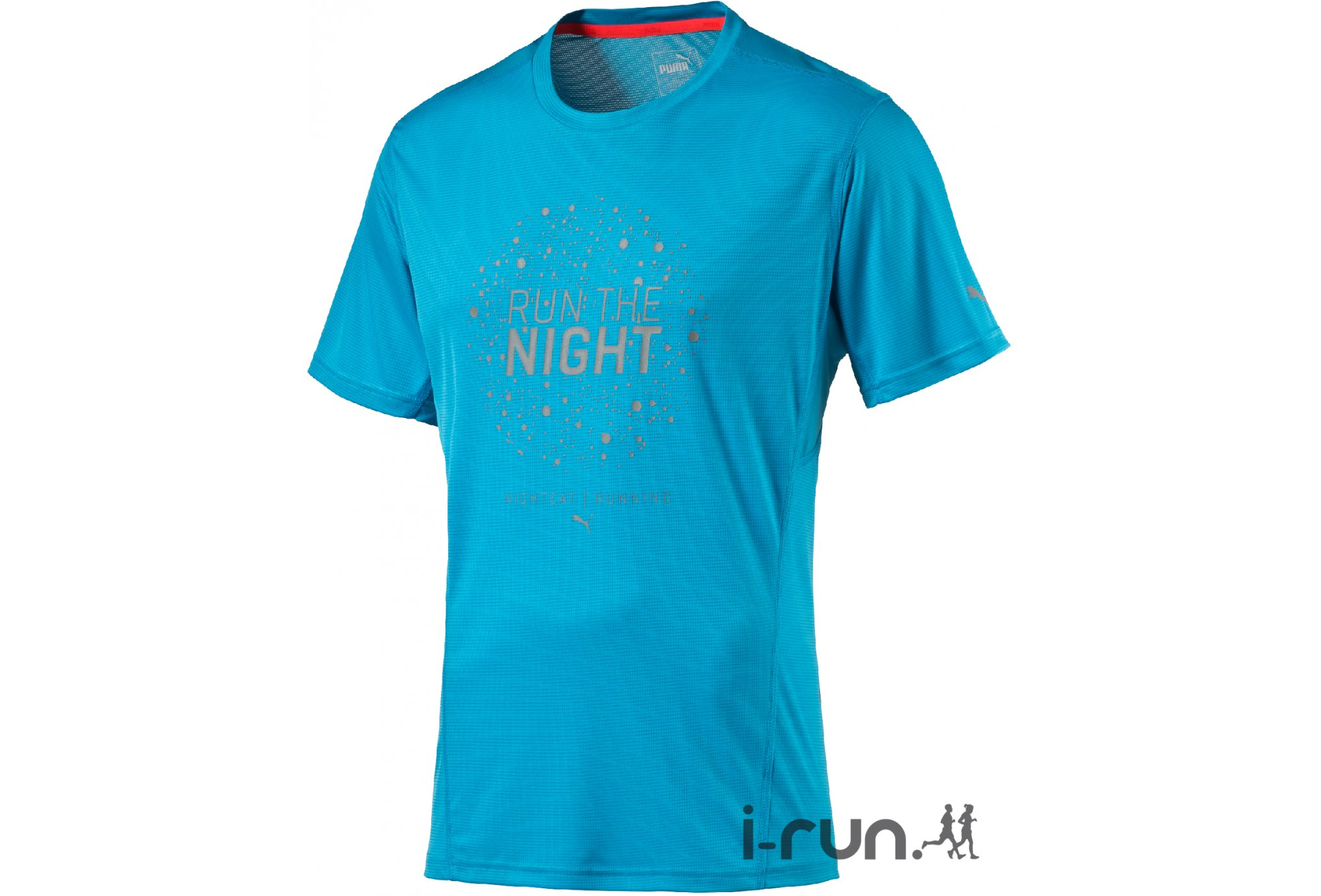 Puma Tee-shirt Night Cat M vêtement running homme