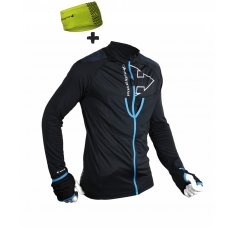 Raidlight Wintertrail Full Zip + Bandeau Wintertrail M