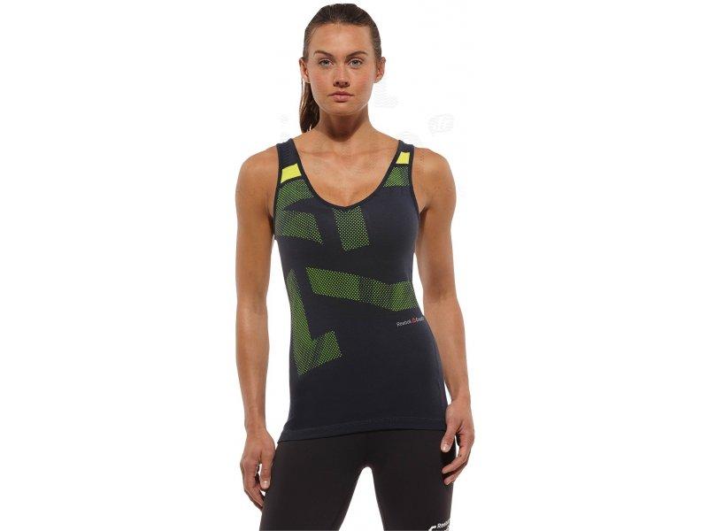 reebok d bardeur crossfit w pas cher v tements femme running fitness training en promo. Black Bedroom Furniture Sets. Home Design Ideas