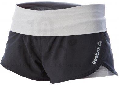 reebok short 2 en 1 one series w pas cher v tements femme running shorts cuissards jupes. Black Bedroom Furniture Sets. Home Design Ideas