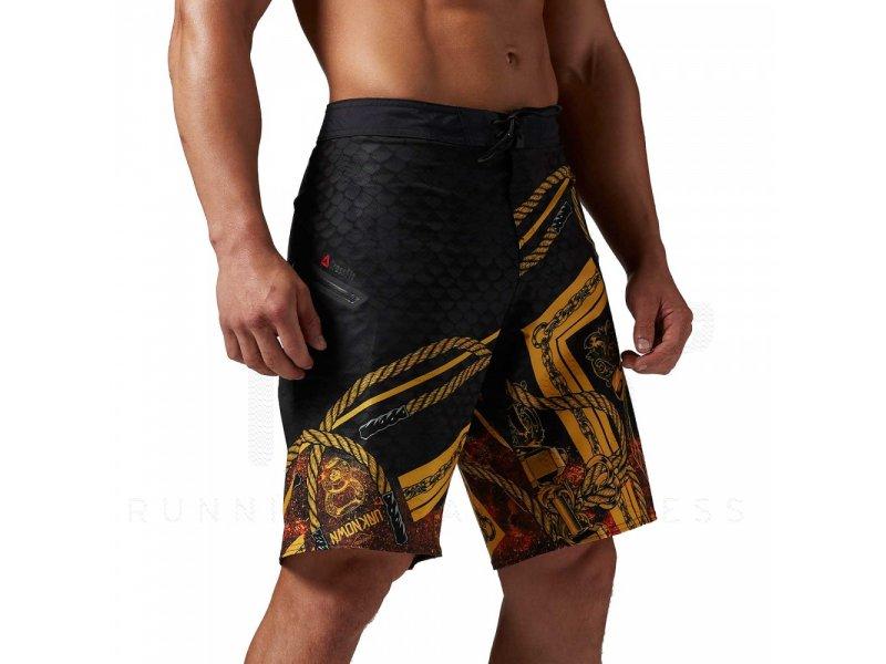 reebok short crossfit super nasty joe king m pas cher v tements homme running shorts. Black Bedroom Furniture Sets. Home Design Ideas