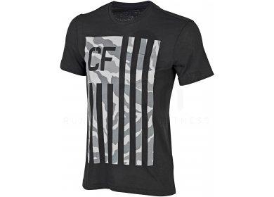 Reebok Tee-Shirt Crossfit Camo Flag Pocket M