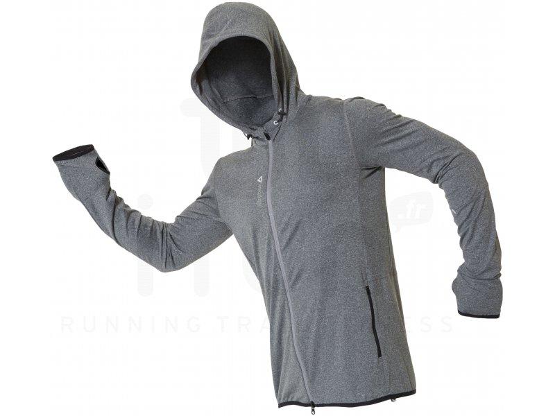 reebok veste sweater one knit m pas cher v tements homme running training en promo. Black Bedroom Furniture Sets. Home Design Ideas