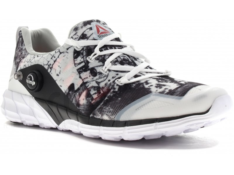 Homme Chaussures De Course Reebok Realflex Noir Blanc