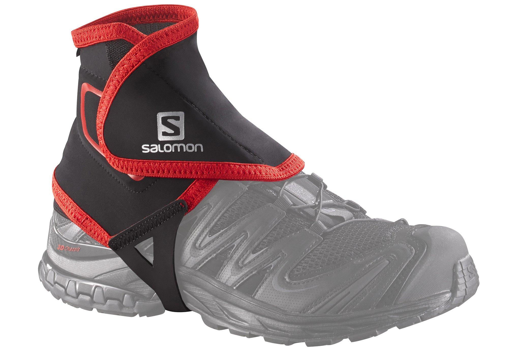 Salomon Guêtres Trail Gaiters High Lacets / guêtres / semelles