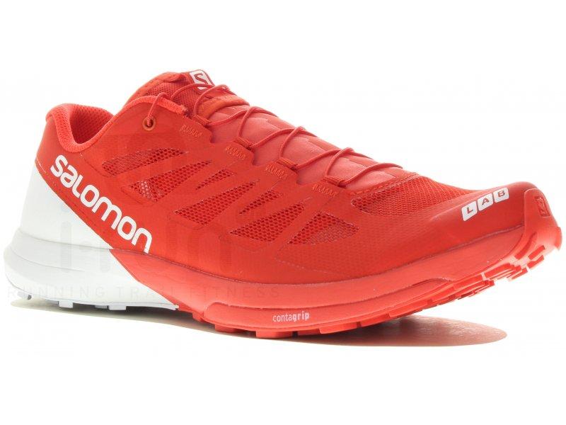 salomon s lab sense 6 m pas cher chaussures homme running trail en promo. Black Bedroom Furniture Sets. Home Design Ideas