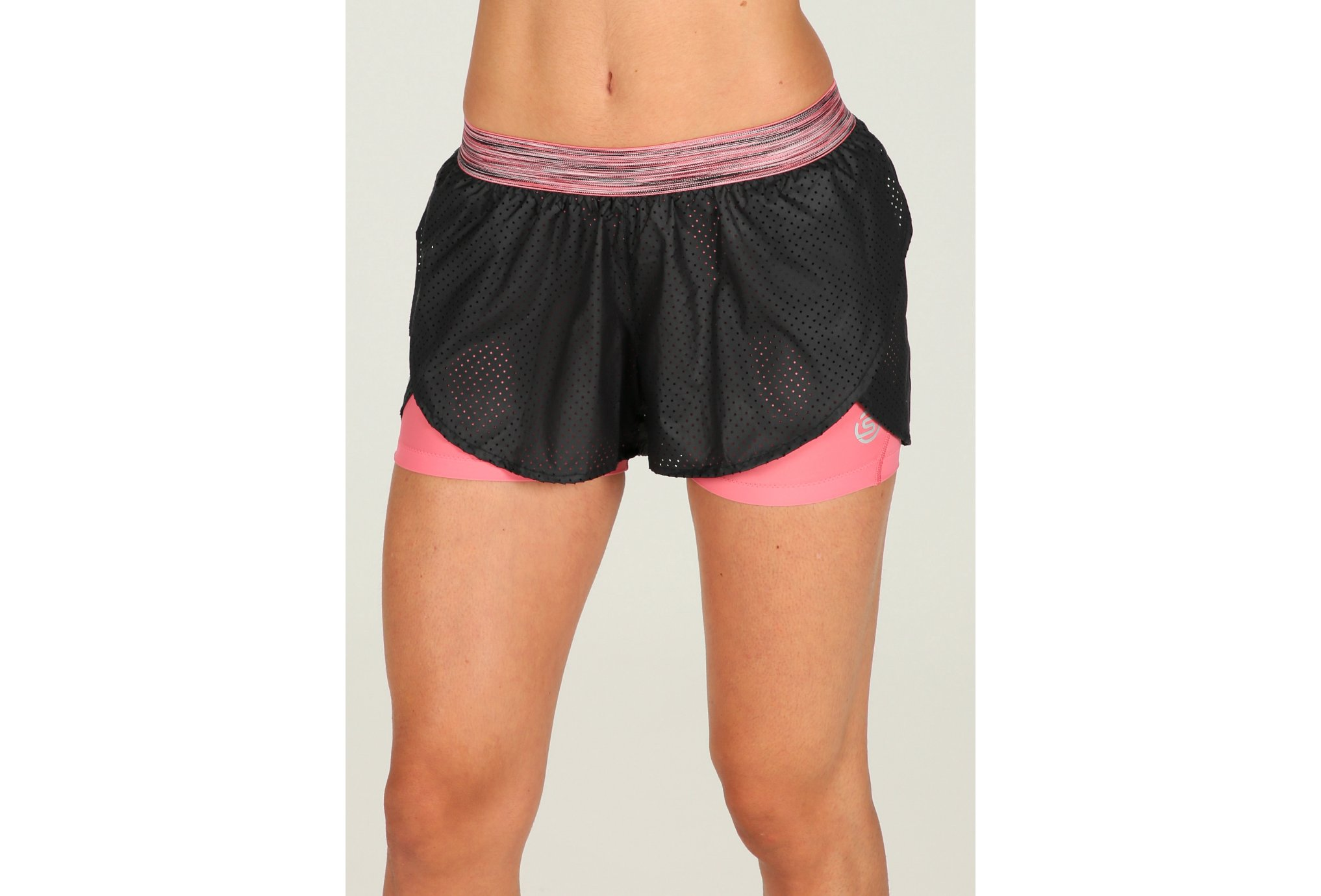 Skins Short Superpose DNAmic W vêtement running femme
