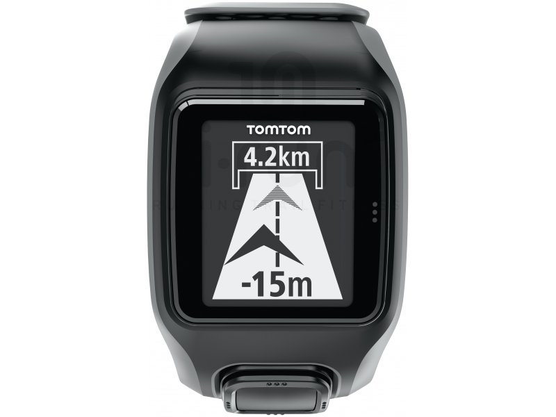 tomtom montre gps cardio cadence altimetre multisport gris. Black Bedroom Furniture Sets. Home Design Ideas