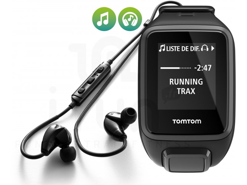tomtom runner 2 music casque bluetooth large pas cher. Black Bedroom Furniture Sets. Home Design Ideas
