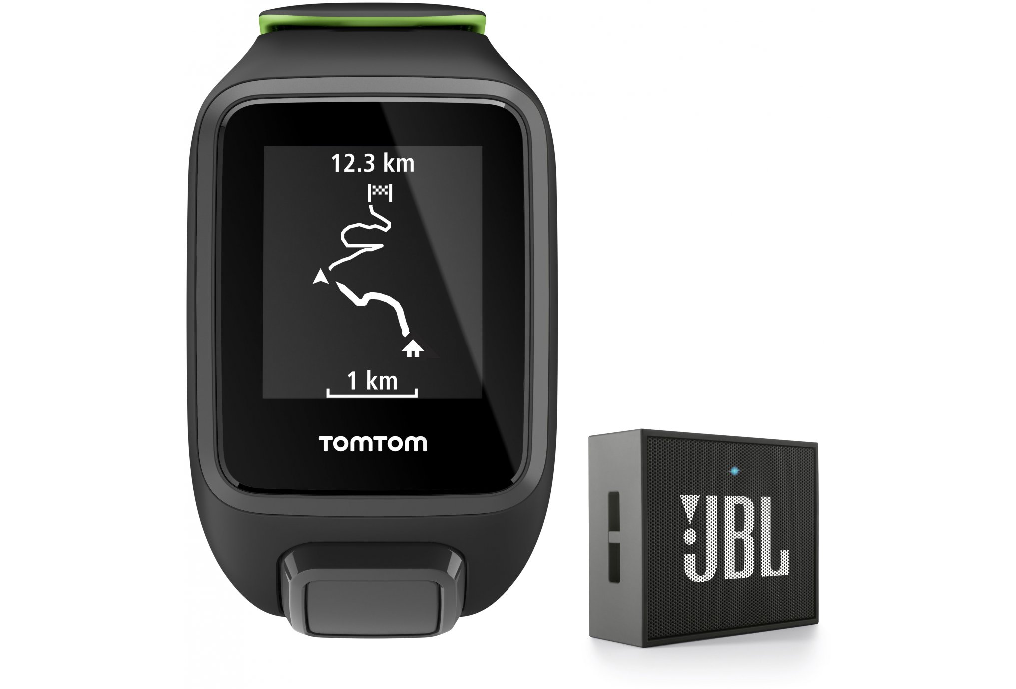 Tomtom Runner 3 Cardio + Music - Small - Haut parleur JBL Cardio-Gps