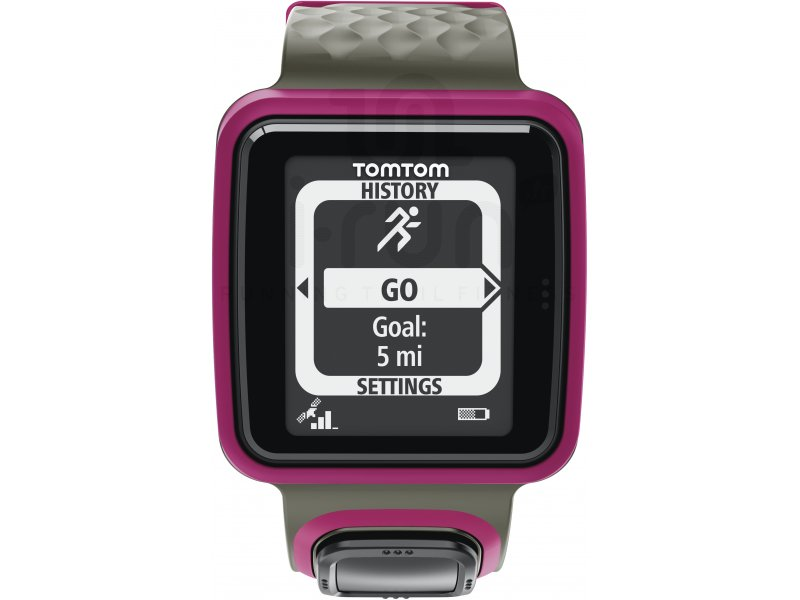 tomtom runner montre gps w pas cher electronique running cardio gps en promo. Black Bedroom Furniture Sets. Home Design Ideas
