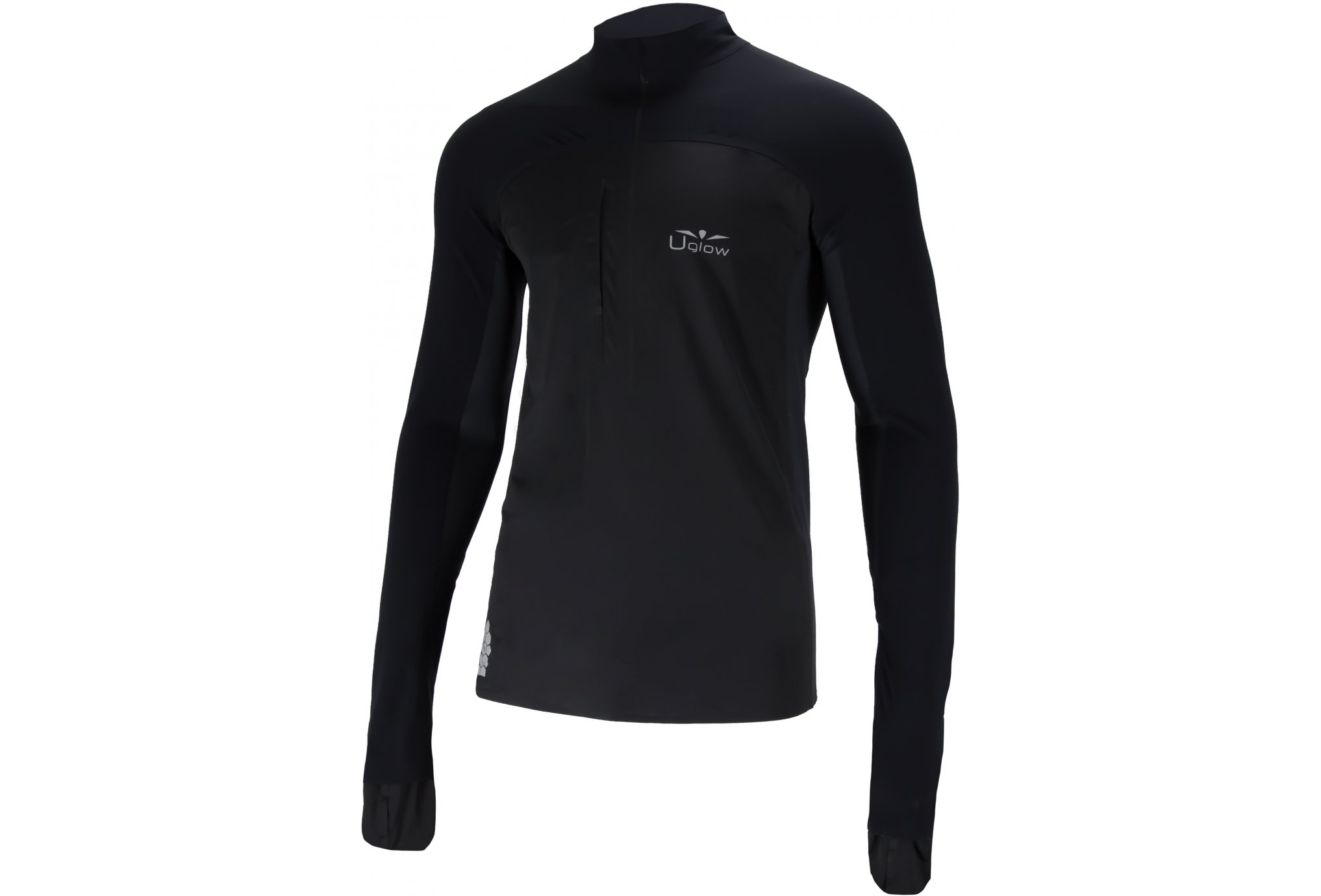 Uglow 3/4 Zip Membrane M vêtement running homme