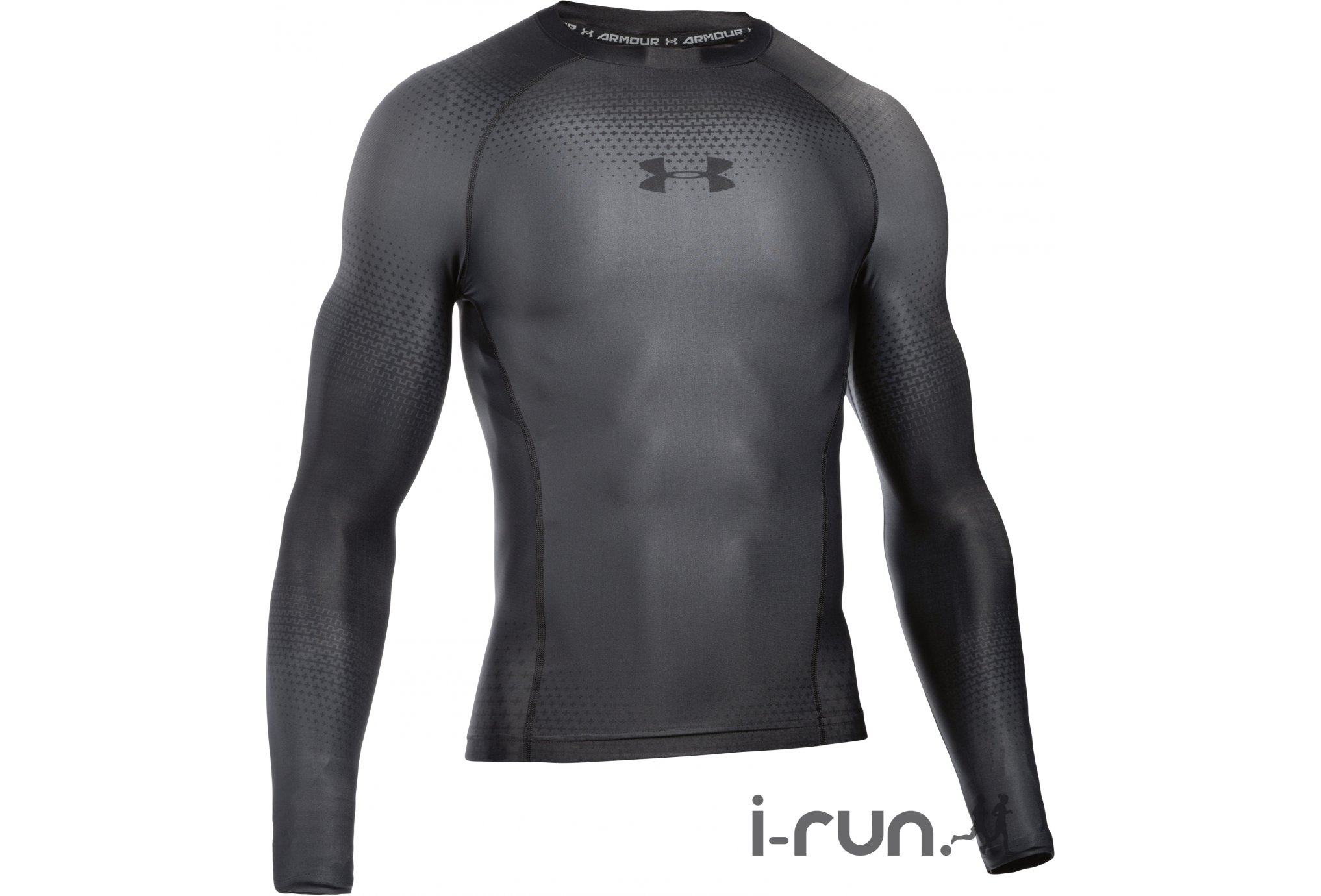 Under Armour Charged Compression Manches Longues M vêtement running homme 476f12428123