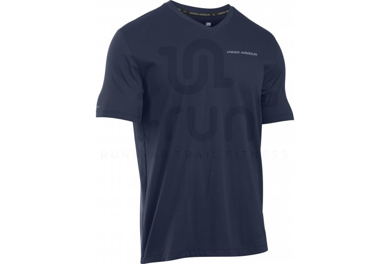 Under Armour Tee-Shirt Charged Cotton V-Neck M
