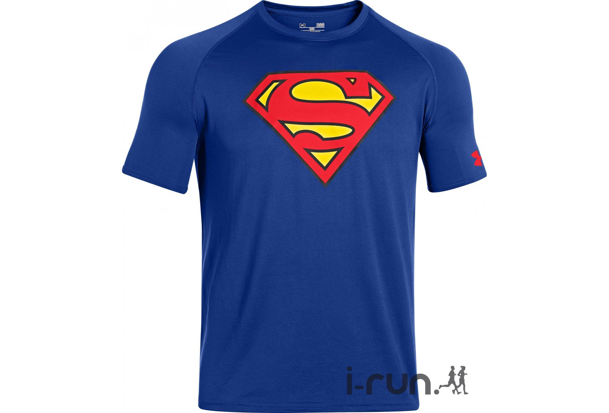 Under Armour Tee-Shirt Transform Yourself Superman Core M vêtement running homme