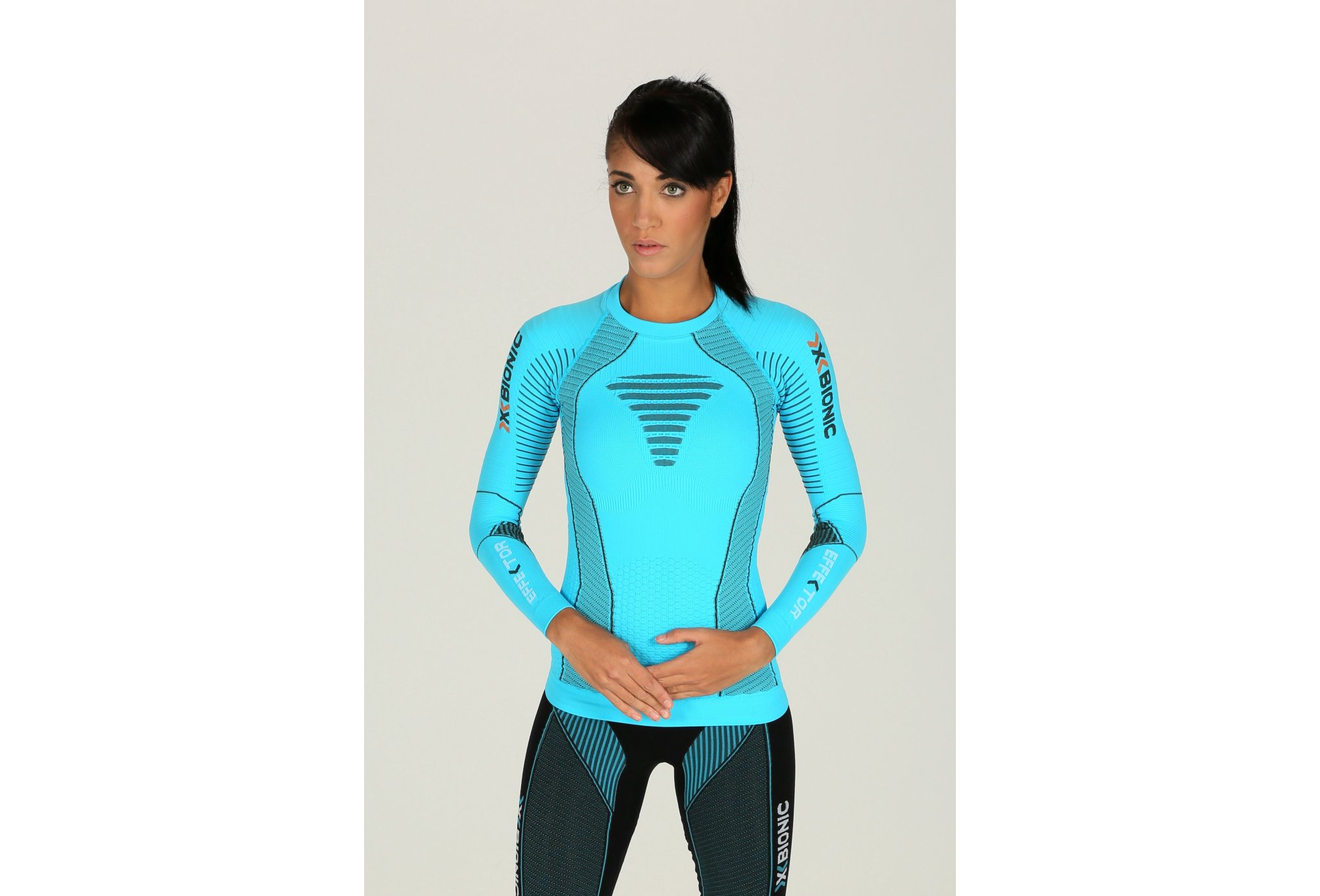 X-Bionic Tee-shirt Effektor W vêtement running femme