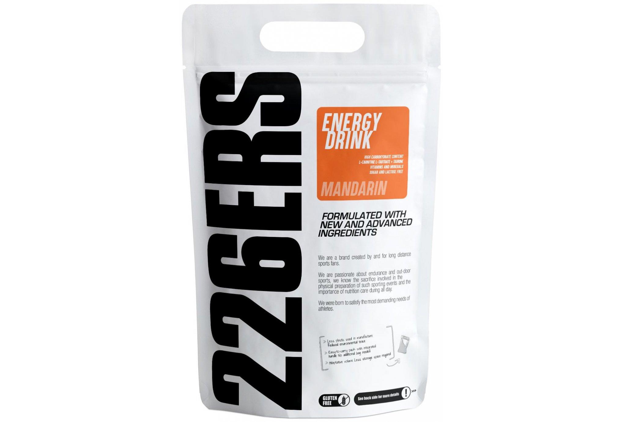 226ers Energy Drink - Mandarine - 1kg Diététique Boissons