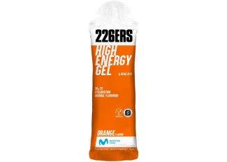 226ers gel energético High Energy Gel BCAAs naranja