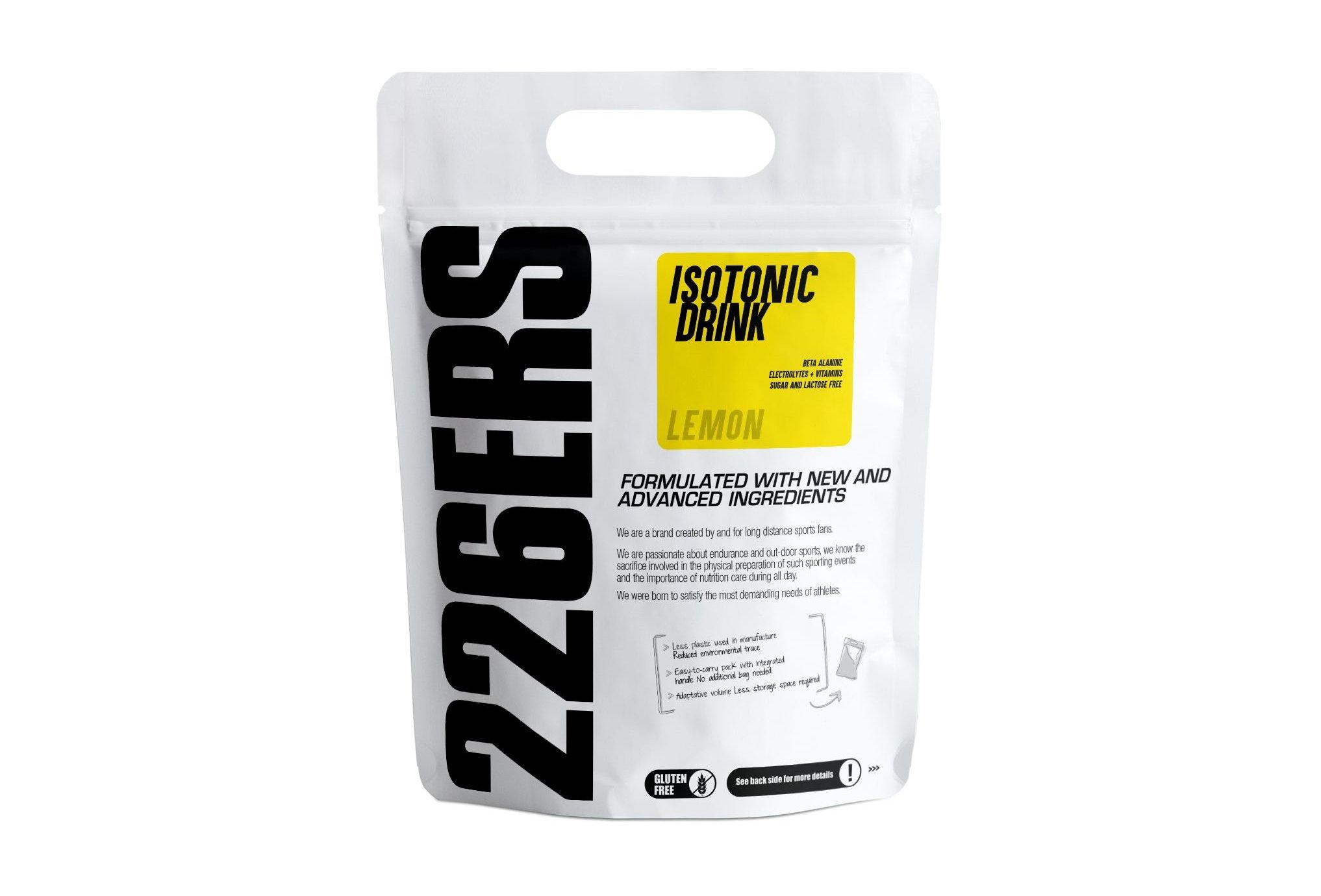 226ers Isotonic Drink - Citron - 0.5 kg Diététique Boissons
