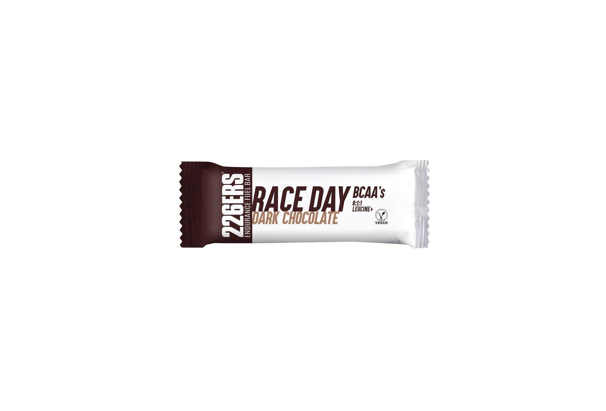 226ers Race Day BCAAs - Chocolat noir Diététique Barres