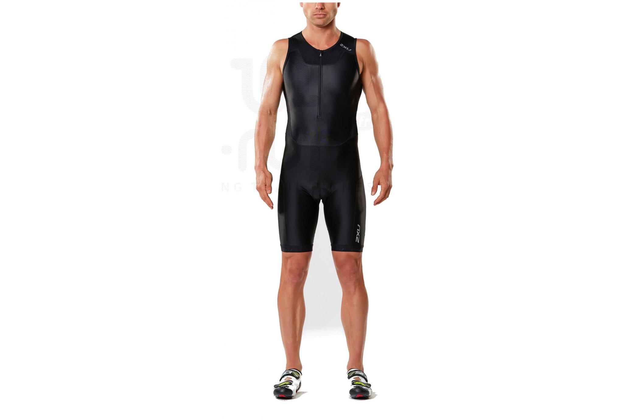 2xu Combinaison zip trisuit m diététique vêtements homme