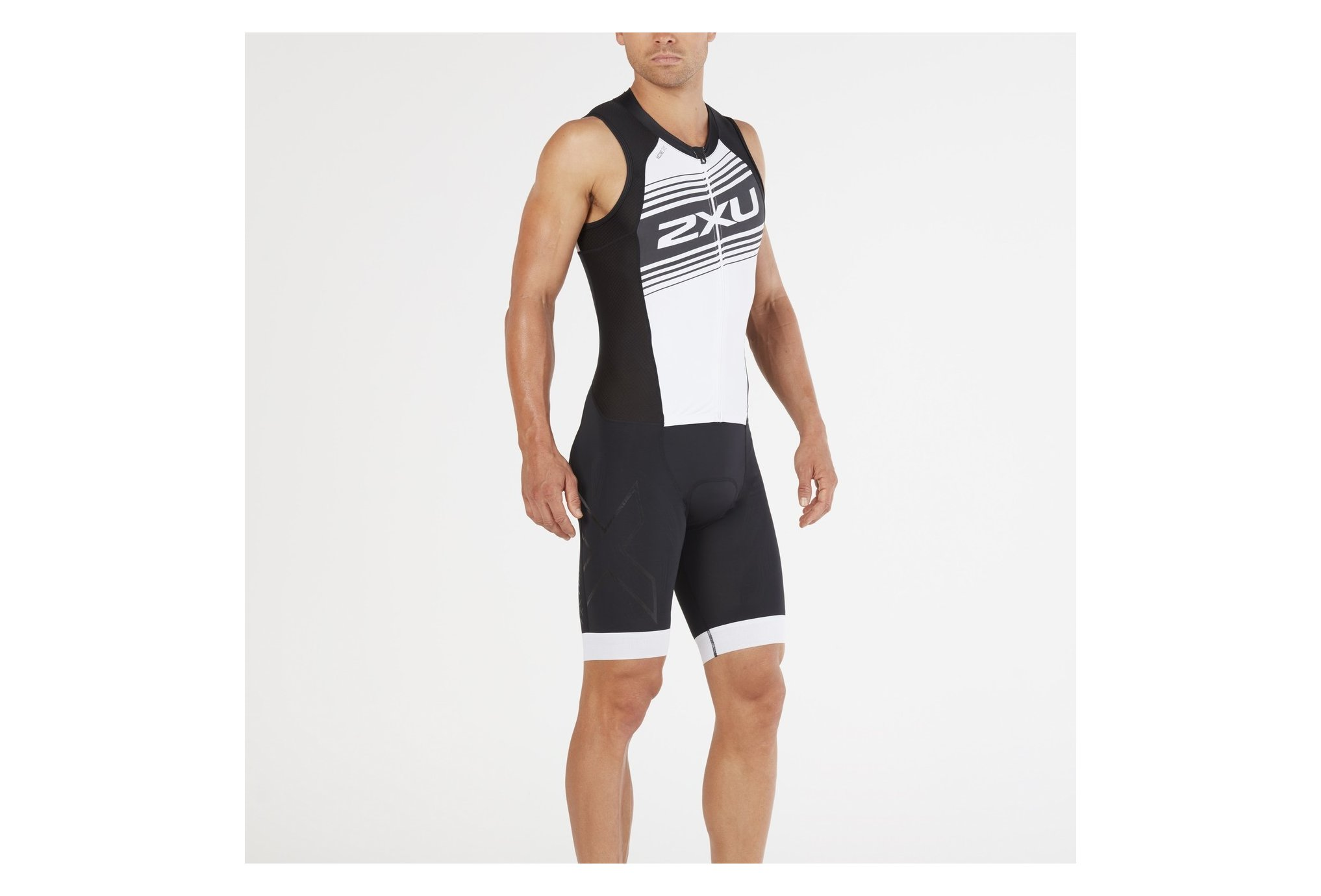2xu Compression full zip m vêtement running homme