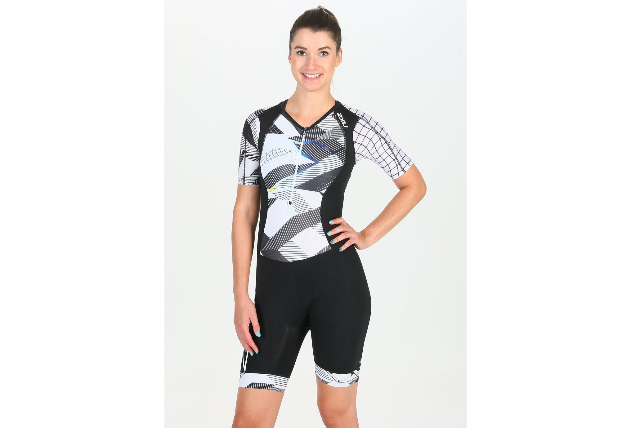 2XU Compression Sleeved Trisuit W vêtement running femme