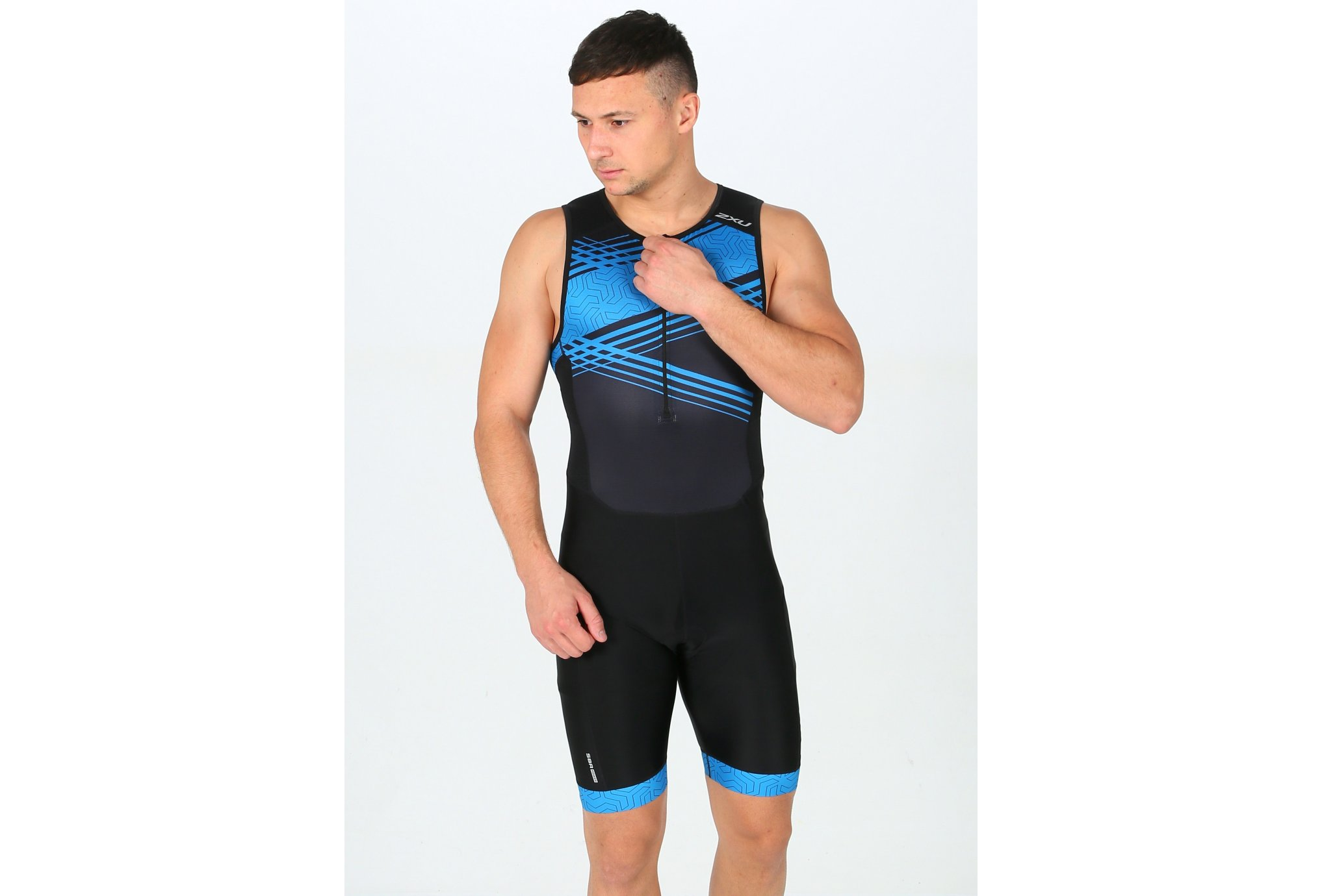 2XU Perform Front Zip Trisuit M vêtement running homme
