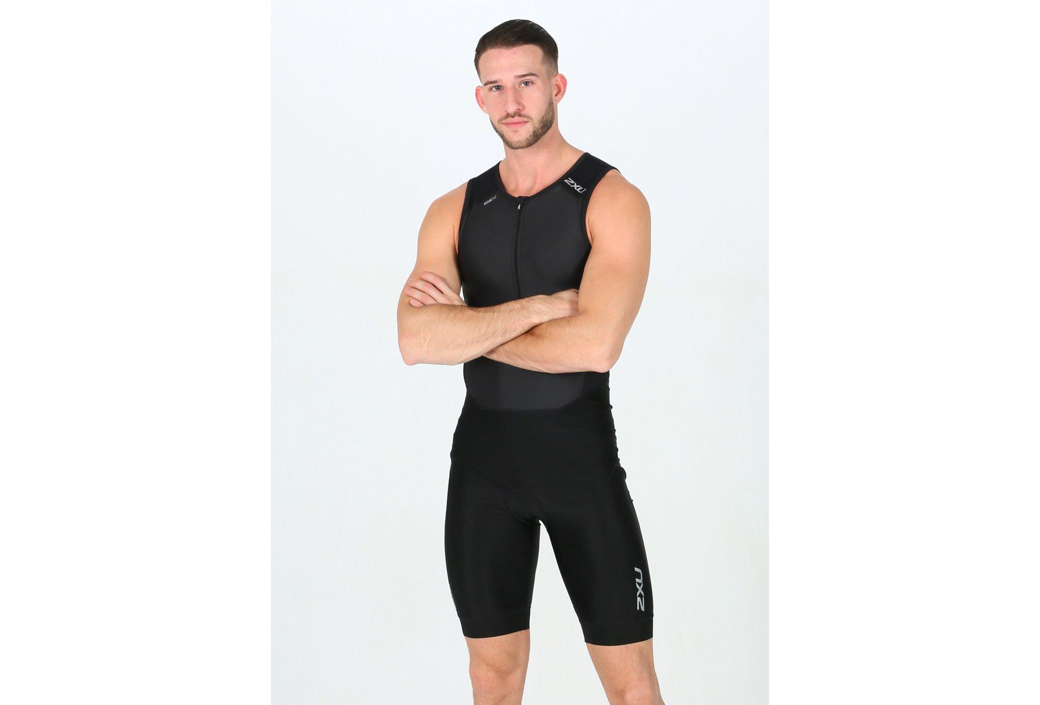 2xu Perform front zip trisuit m vêtement running homme