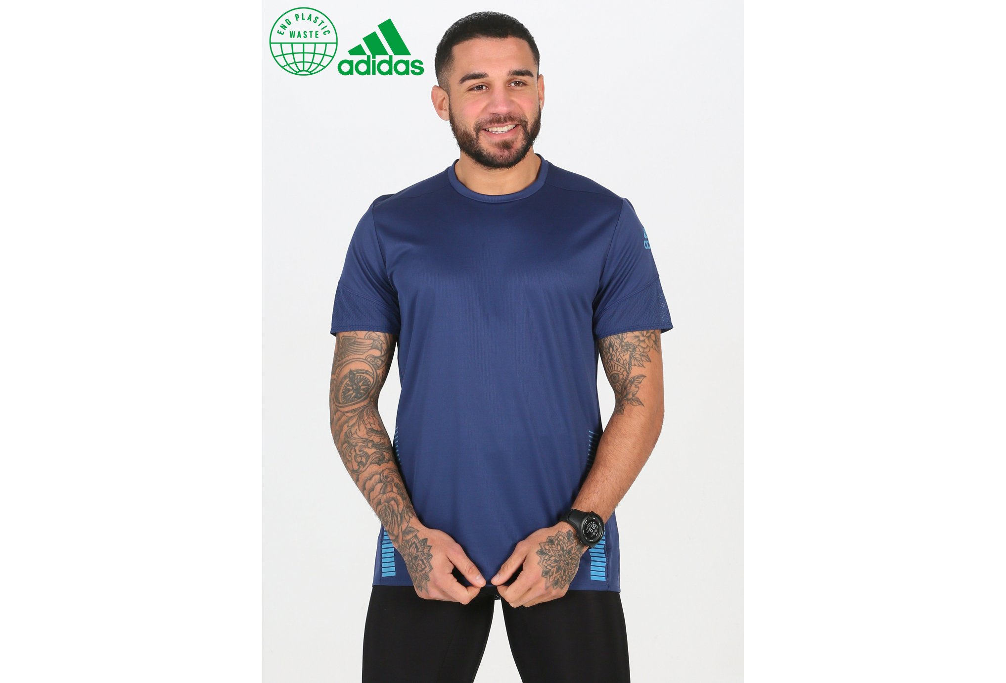 adidas 25/7 Rise Up N Run Parley M vêtement running homme