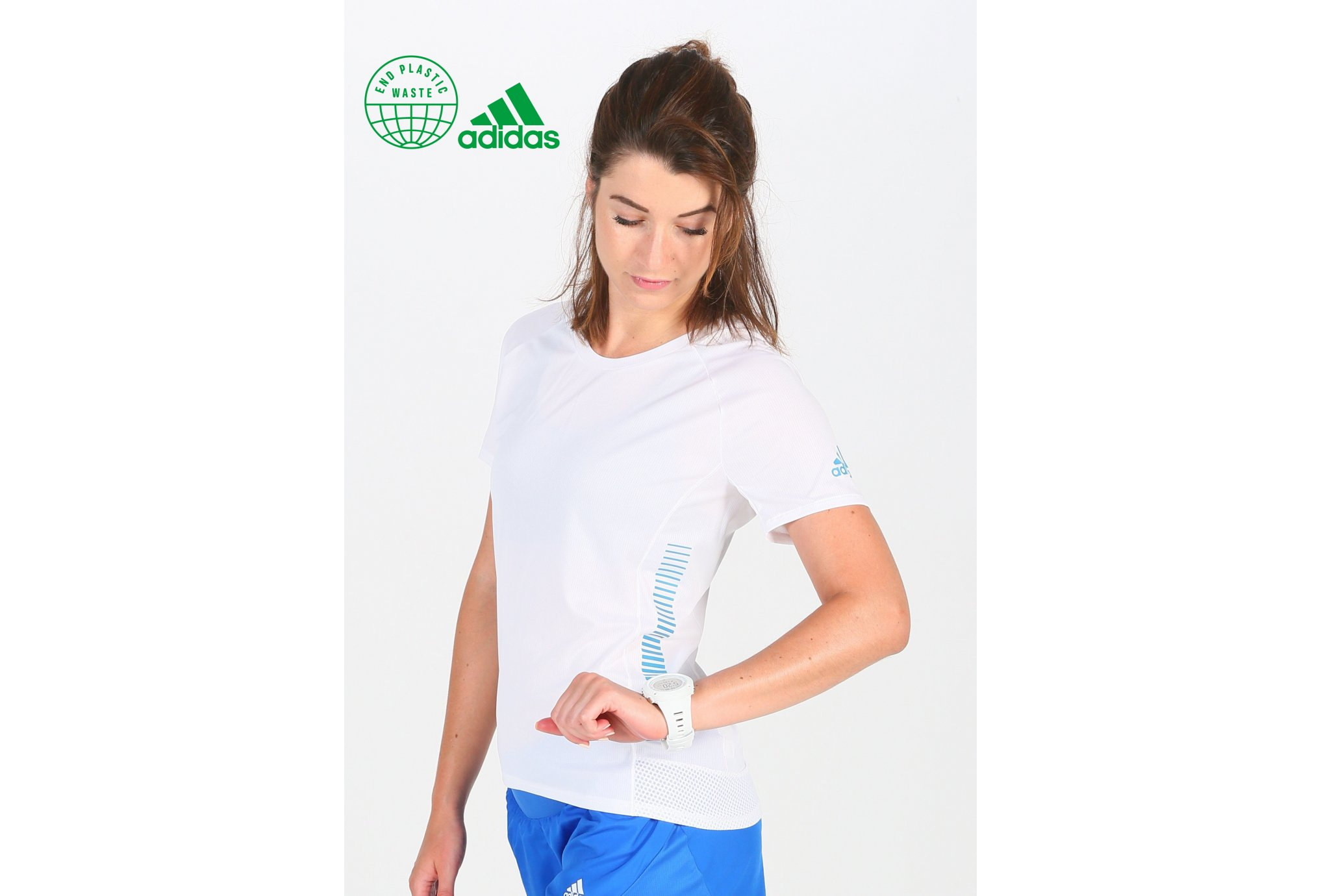 adidas 25/7 Rise Up N Run Parley W vêtement running femme