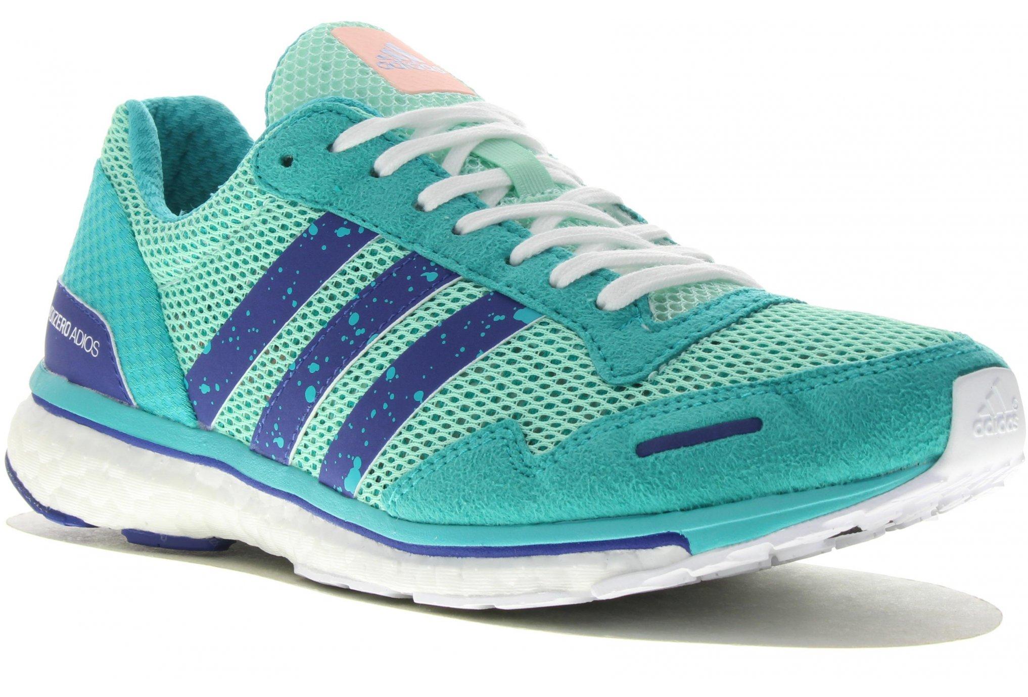 Adidas Adizero adios boost 3 w chaussures running femme
