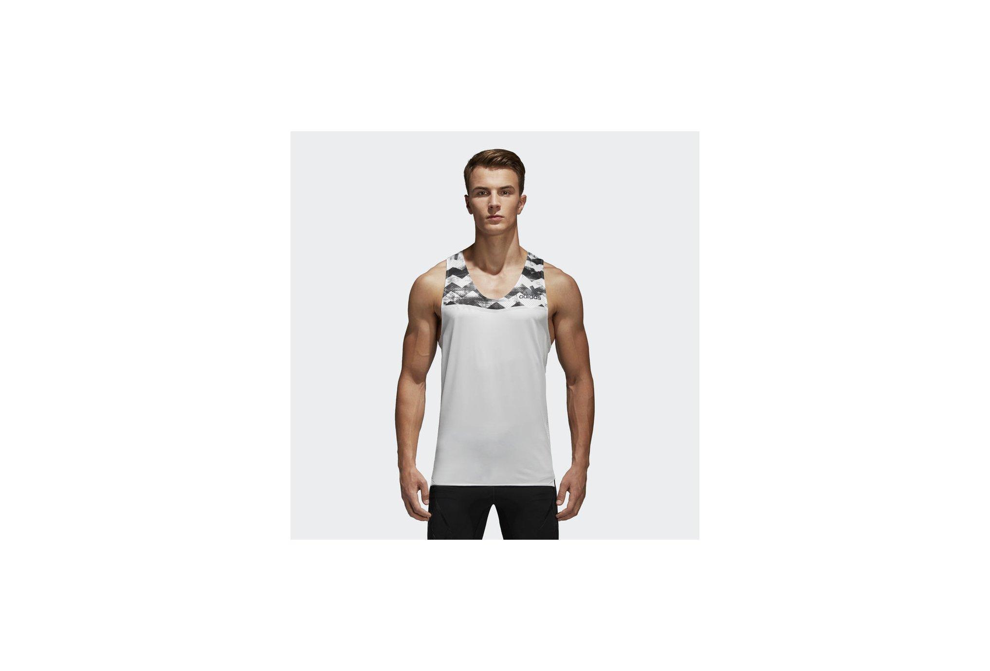 Adidas Adizero m diététique vêtements homme