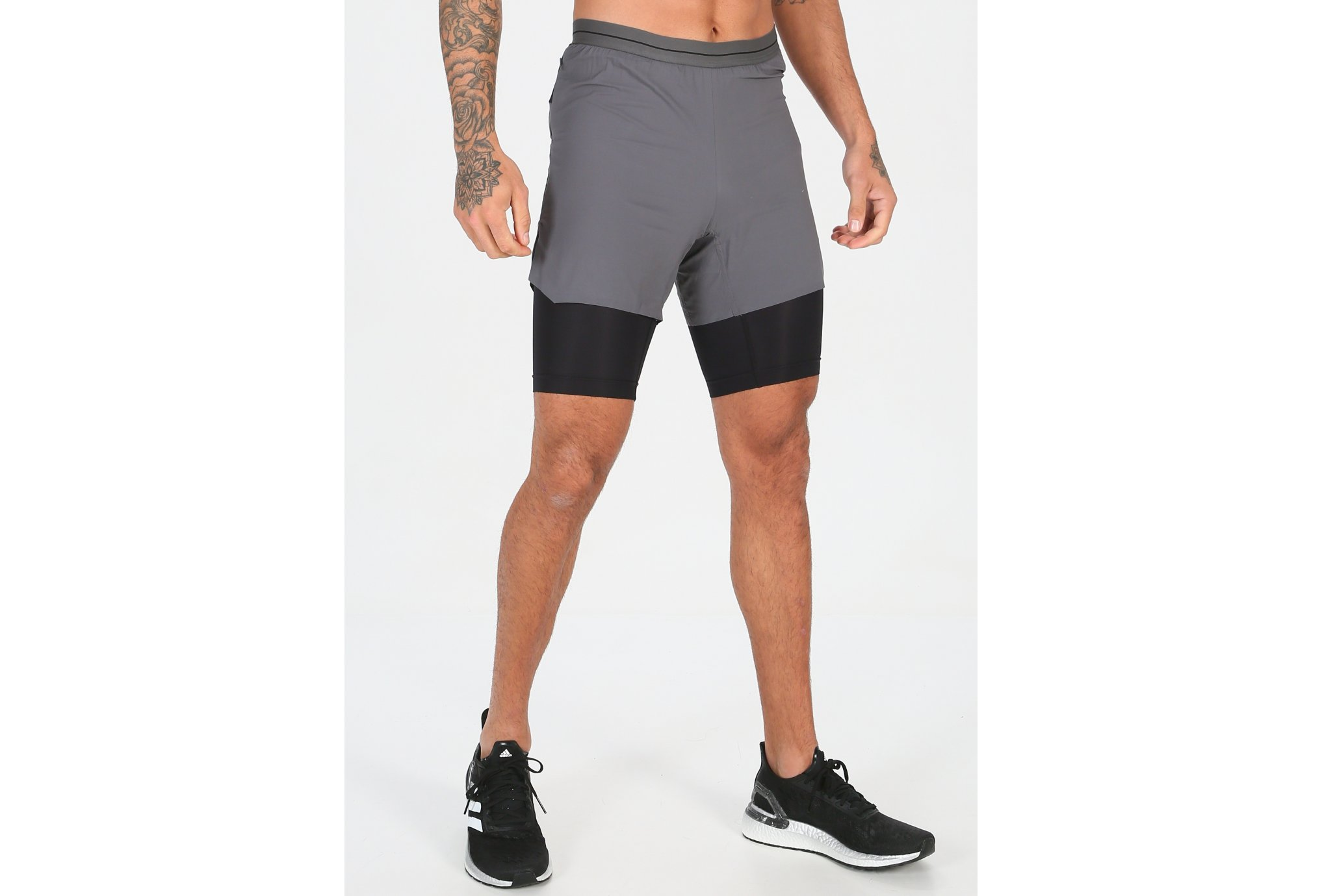 Adidas Agravic 2en1 m vêtement running homme