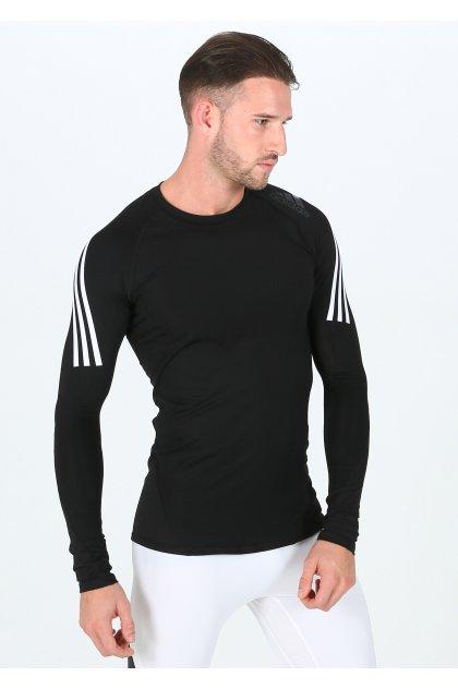 adidas camiseta manga larga Alphaskin Sport 3 Stripes