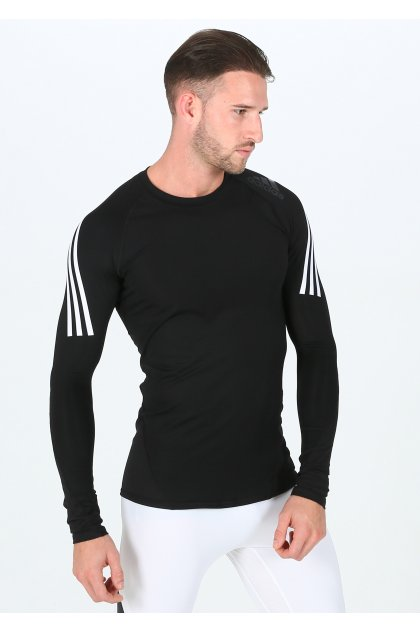 adidas camiseta manga larga Alphaskin Sport 3 Stripes