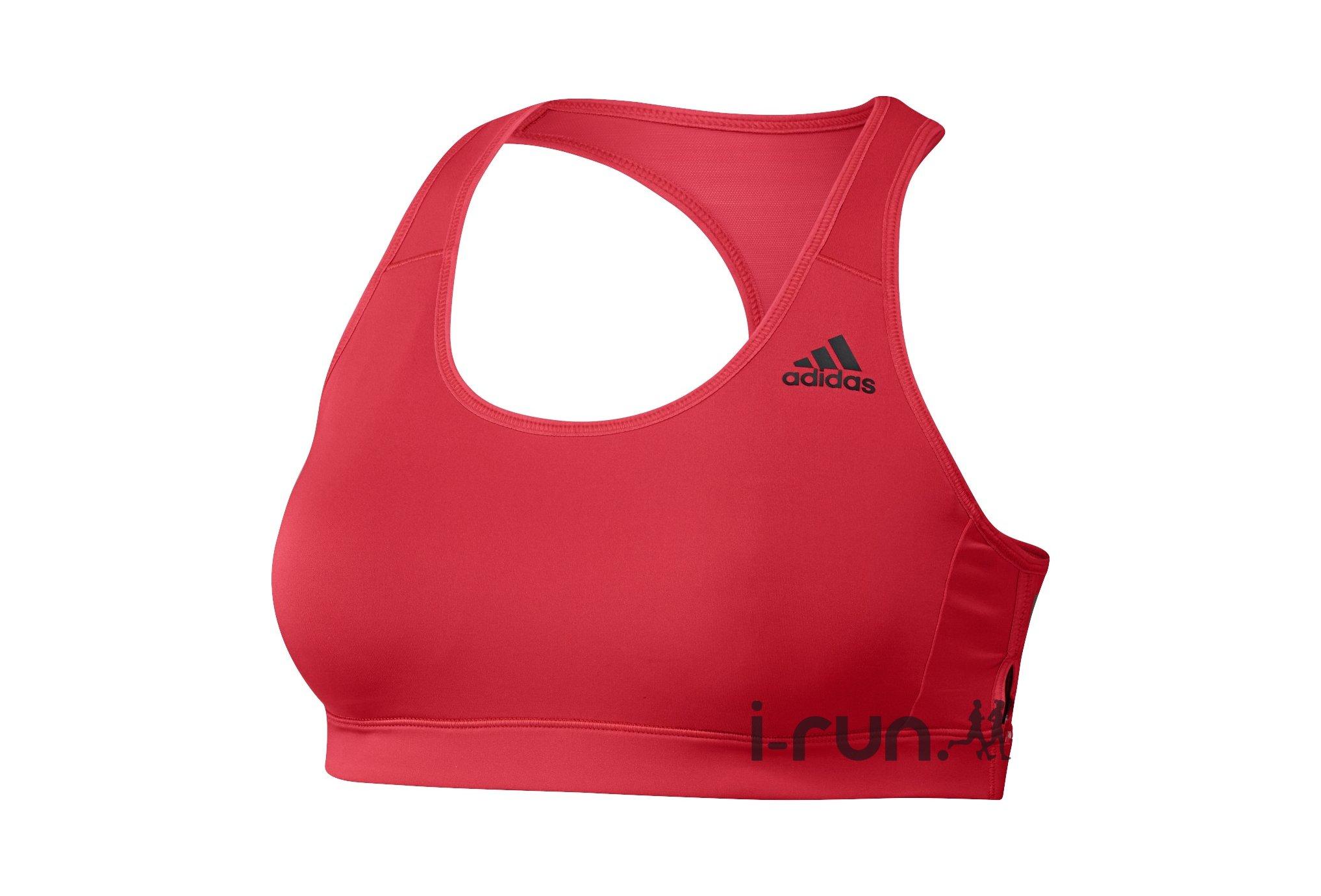Adidas bassière racer back 3 stripes vêtement running femme