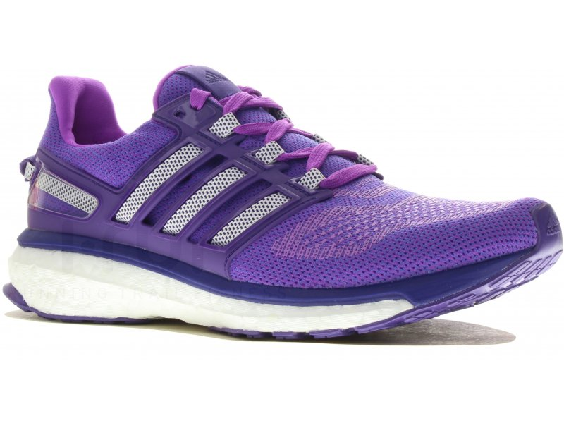 new product fa1d0 aaa71 adidas Energy Boost 3 W femme Violet pas cher