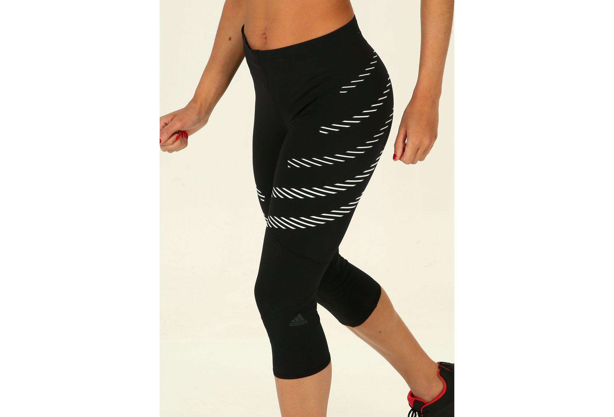 adidas Mallas 3/4 How We Do Speed Parley vêtement running femme