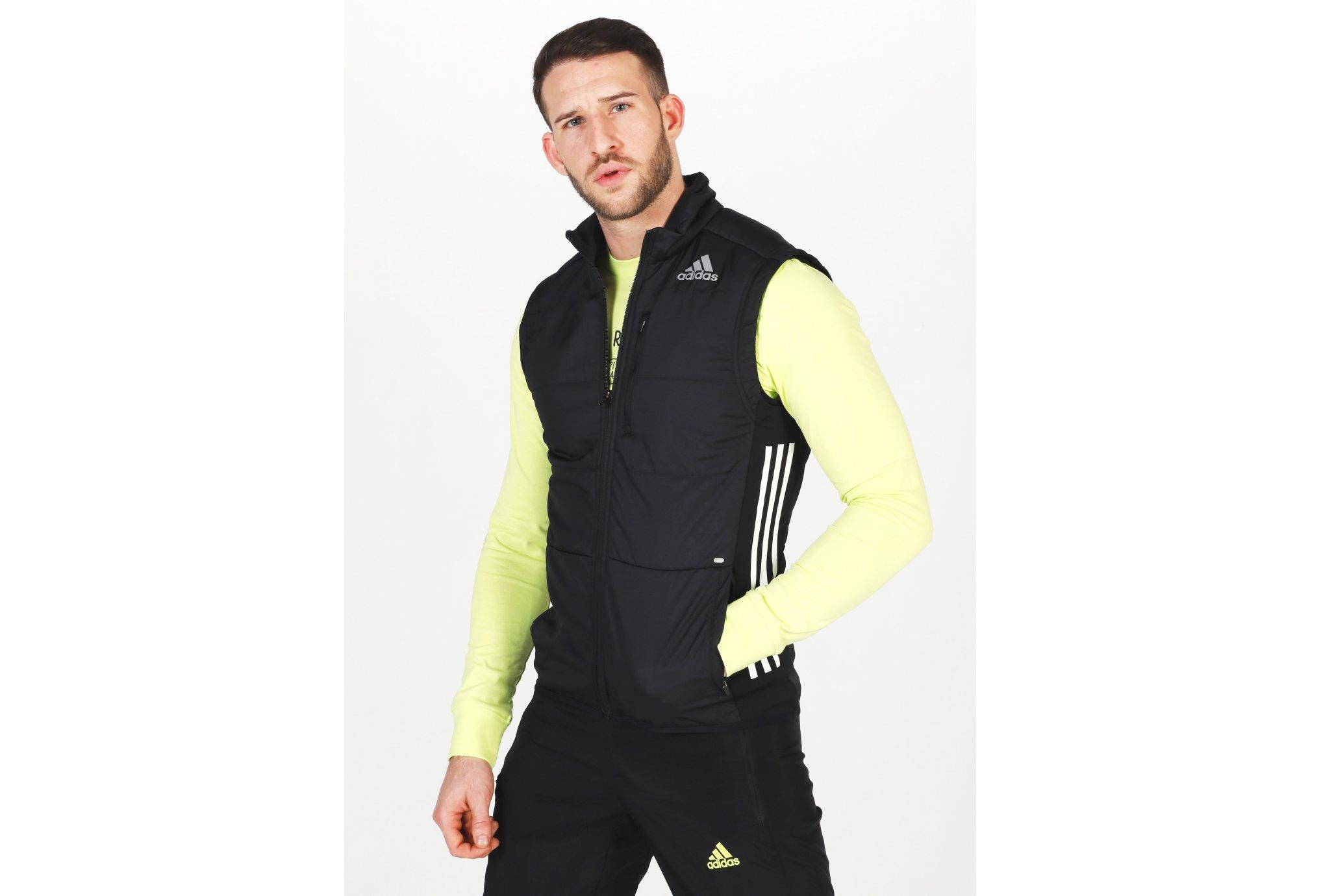 adidas Own The Run 3-Stripes M Diététique Vêtements homme
