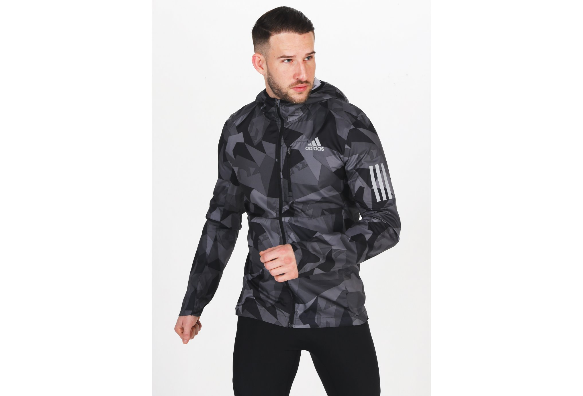 adidas Own The Run Camo M vêtement running homme