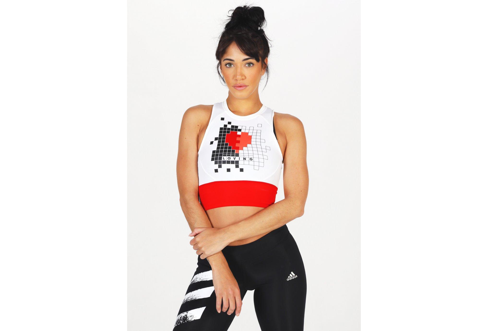 adidas Own The Run Valentine W Diététique Vêtements femme