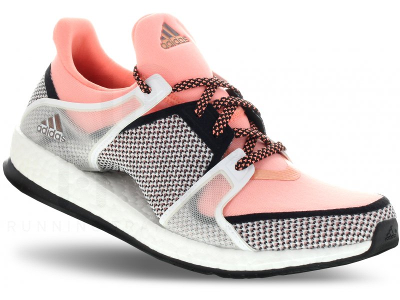 new style 4198e c8a93 adidas Pure Boost X Training W femme Rouge pas cher