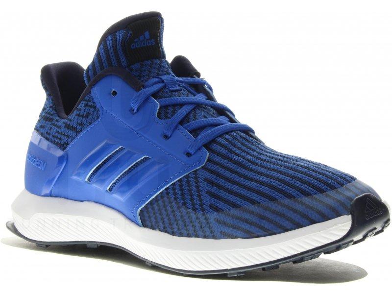 adidas RapidaRun Knit Junior - Chaussures homme running Junior Running  adidas RapidaRun Knit Junior
