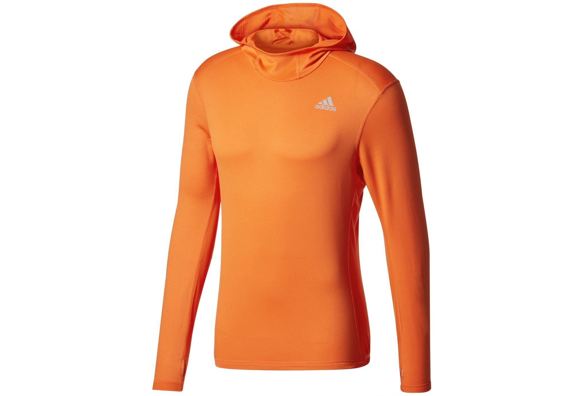 Adidas Response climawarm hoodie m vêtement running homme