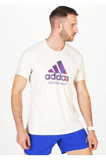 adidas camiseta manga corta Run For The Oceans Graphic Primeblue