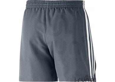 adidas Short Essentials 3S Chelsea M gris pas cher - Vêtements homme ... 4eab4618da1