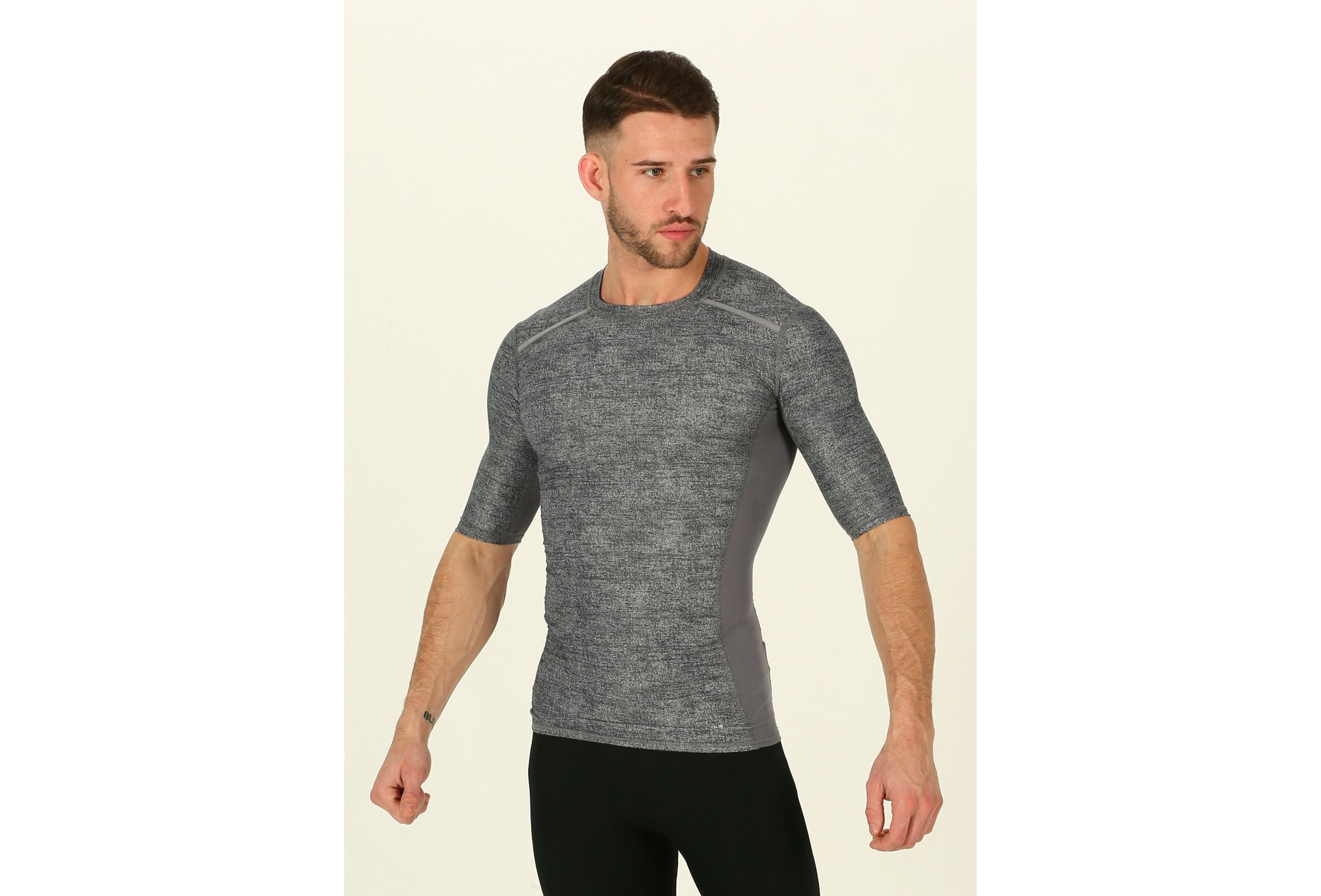 adidas Camiseta 3/4 Techfit Chill vêtement running homme