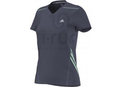 0a3a0641d57 adidas Tee-Shirt OZ W femme Bleu pas cher