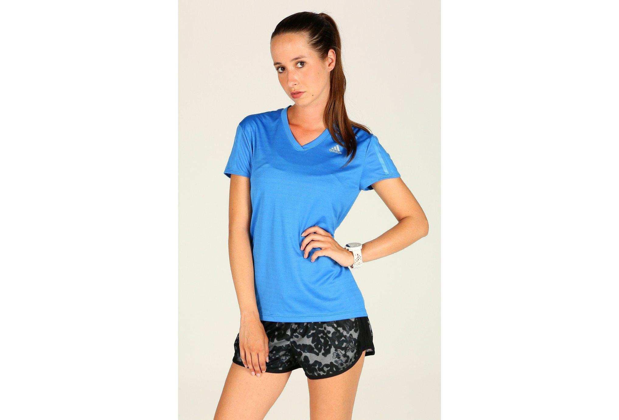 adidas Tee-Shirt Response W Diététique Vêtements femme